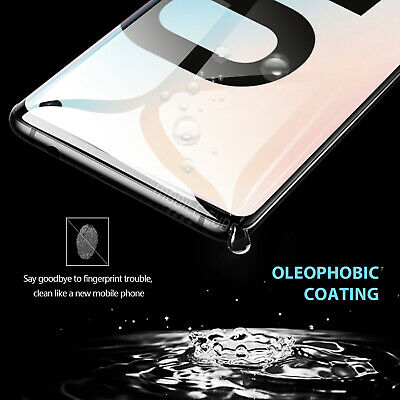 Galaxy S10 S9 S8 Plus S10e Note 9 8 Full Tempered Glass Screen Protector Samsung 4