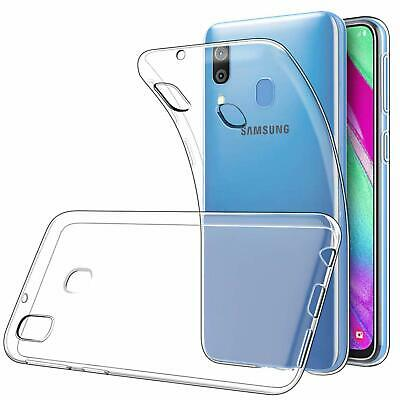 Protection Samsung Galaxy A40 A50 A10 A80 Coque / Verre Trempe Etui Housse Case 4