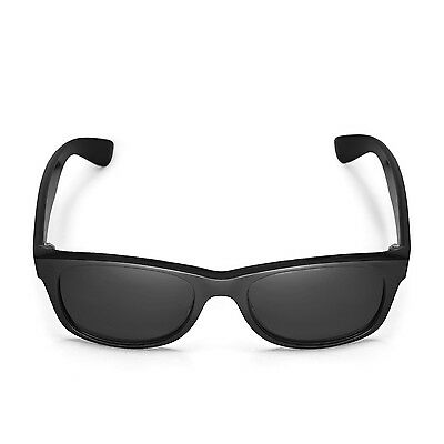d203c43bf1 ... New Walleva Polarized Black Replacement Lenses For Ray-Ban Wayfarer  RB2132 52mm 5