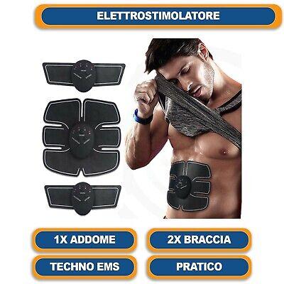 Elettrostimolatore Vers. 2 Per Stimolare I Muscoli Addominali Braccia Gambe 10