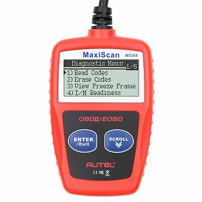 Autel MS309 OBD2 Check Engine Light Code Reader Auto Car Diagnostic Scanner Tool 2