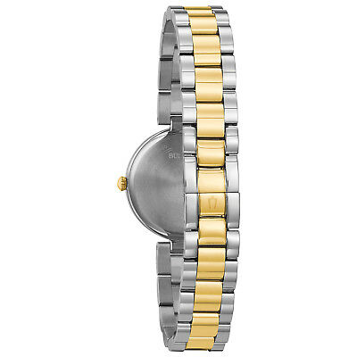 Bulova Classic Women's 98L226 Quartz Mother of Pearl Dial Two-Tone 27mm Watch 2