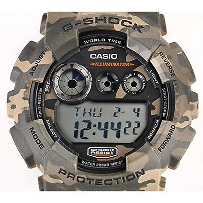 CASIO G SHOCK GD 120CM 5ER G Shock Uhr Watch Montre Camo  vpDLQ