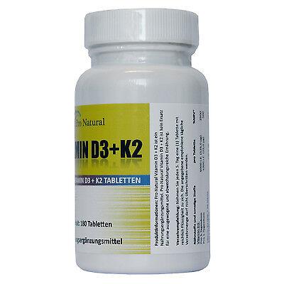K2 Forte 90-450 Tabletten hochdosiert Immunsystem Knochen Zähne Vitamin D3