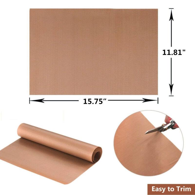 6pcs teflon sheet for heat press ptfe heat trasfer iron resistant baking cloth 4