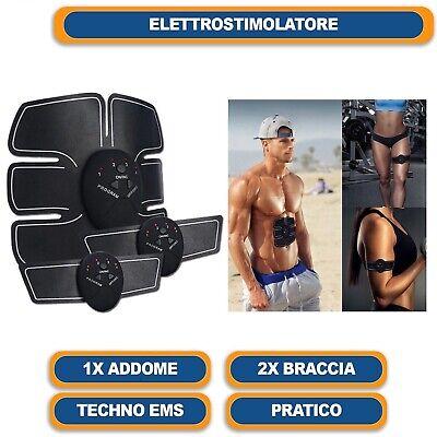 Elettrostimolatore Vers. 2 Per Stimolare I Muscoli Addominali Braccia Gambe 9