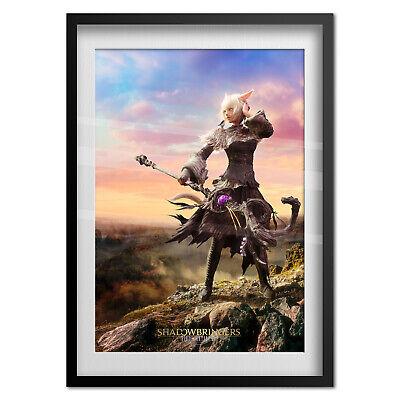 Final Fantasy 14 Online: Shadowbringers Poster - Y'shtola Render Art 2