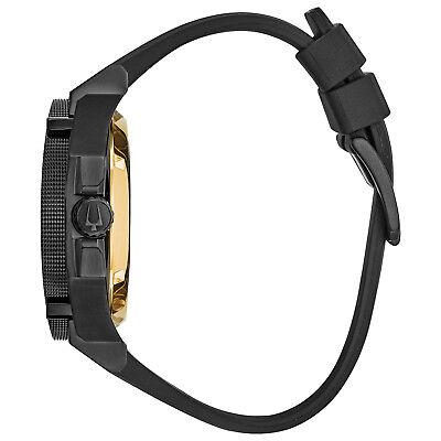 Bulova Grammy Edition Precisionist Men's Black Silicone Strap 47mm Watch 98B294 2