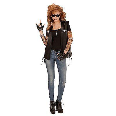 Punk Rocker Biker Gothic Pop Star 70's 80's biker YMCA Men Women Accessories UK 4