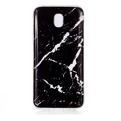 Hybrid Soft TPU Silicone Marble Pattern Case Cover For Samsung Galaxy J3 J5 J7 8