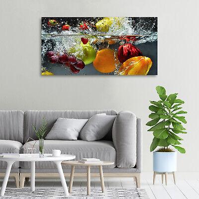 Glas-Bild Wandbilder Druck auf Glas 100x50 Deko Essen & Getränke Obst Gemüse