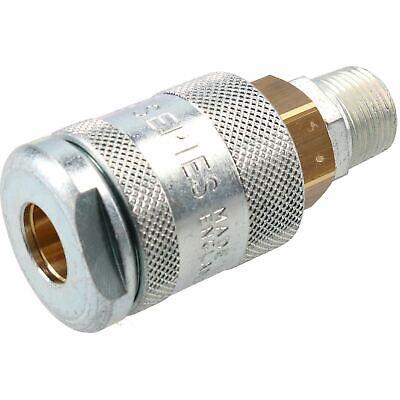 "PCL 60 Series Female Coupler 3/8"" BSP Male Thread & Male Adaptor Air Fittings 4"