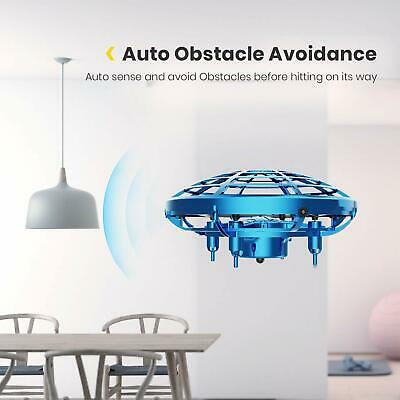 Mini Drone Quad Induction Levitation UFO Hand Operated Helicopter Toys For Kids 2