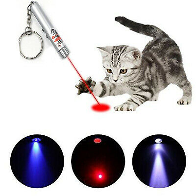 Cat Toys Laser Pointer Cat Laser Toy Pen Catch the LED Light Interactive 4 Color 4