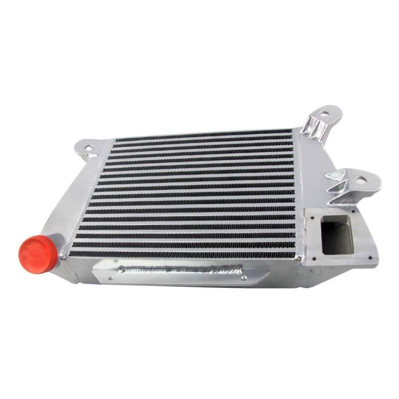 Aufgerüstet 76mm Aluminium Ladeluftkühler Für 2007-2013 Mazda 3 6 MPS CX7 2,3L