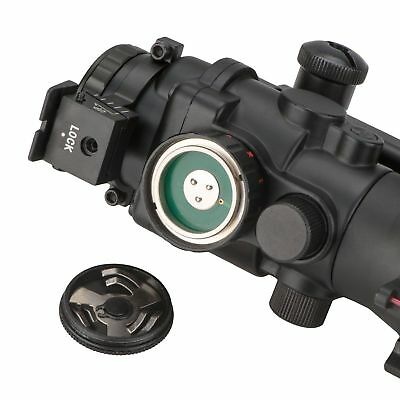4x32 Tactical Rifle Scope Red & Green &Blue illuminated Reticle Scope 8