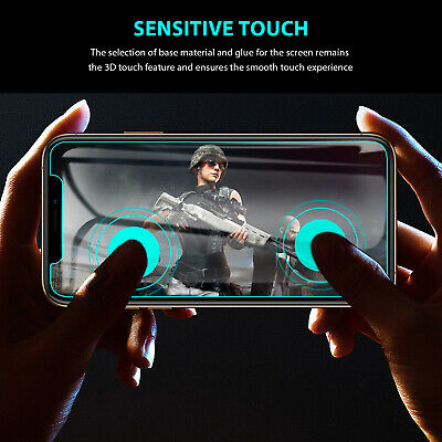 2X iPhone X XS Max XR 8 7 6 6S Plus 9H Tempered Glass Screen Protector For Apple 6