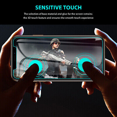 iPhone 11 Pro XS Max X XR 8 7 6 S Plus Tempered Glass Screen Protector for Apple 6