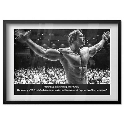 "I WILL DO WHATEVER IT TAKES Motivational Posters 24x32/"" Arnold Schwarzenegger"