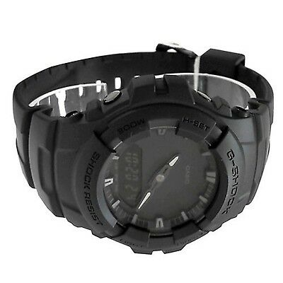 Casio G-shock Men's Black Out Series Analog Digital watch G100BB-1A 3