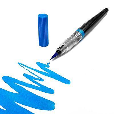 Calligraphy in 12 Colours Manga Pentel Colour Water Brush Pen Refillable