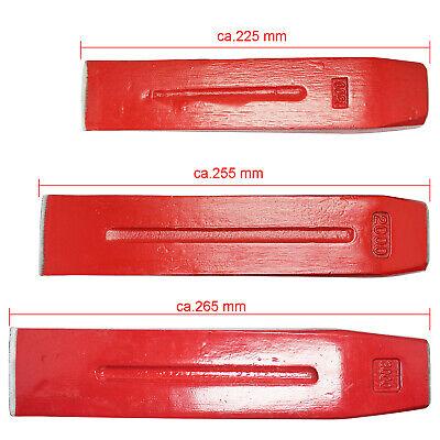20cm Fällkeil Scheitkeil Nachsetzkeil Treibkeil Spaltkeil aus Kunststoff 14cm o