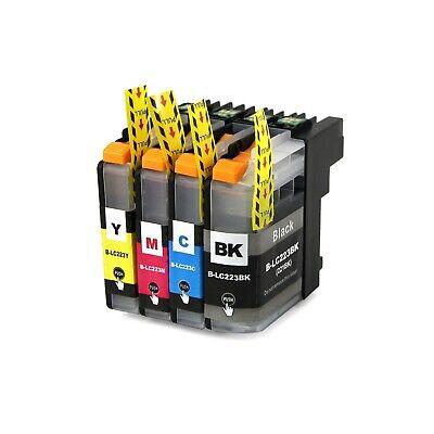 Cartuchos de Tinta Compatibles Non Oem para Brother LC223 LC-223 LC 223 XL LC221 9