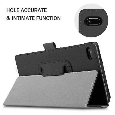 For Lenovo Tab E7 E8 Folding Stand PU Leather Business Heavy Duty Case Cover 5