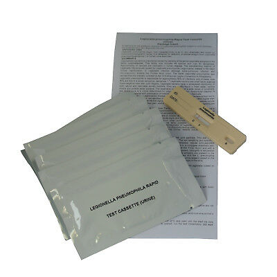 Legionella Urine Test Kits Legionnaires Disease GP Professional - EXP 06/2019 2