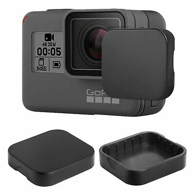 TEMPERED GLASS SCREEN PROTECTOR For GoPro Hero 7 6 5 Only Black Lens Cap Cover 4