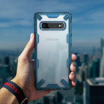 For Samsung Galaxy S10 Plus Case Ringke [FUSION-X] Shockproof Armor Bumper Cover 5