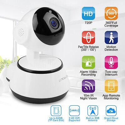 US HD Wireless IP Security Camera Indoor CCTV Home Smart WIFI Baby Monitor 3