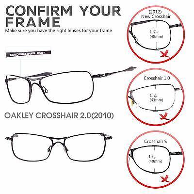 dfbde0947d5 1 of 6FREE Shipping New Walleva Polarized Transition Photochromic Lenses  For Oakley Crosshair 2.0