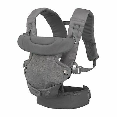 Infantino Flip Advanced 4-in-1 Convertible Carrier, Light Grey 3
