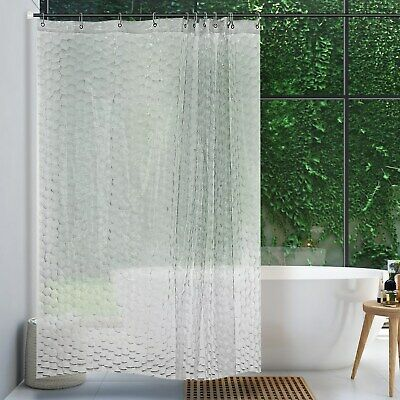Shower Curtain Decor Marble Background With Crack 3d Design Bath Curtains A8v6