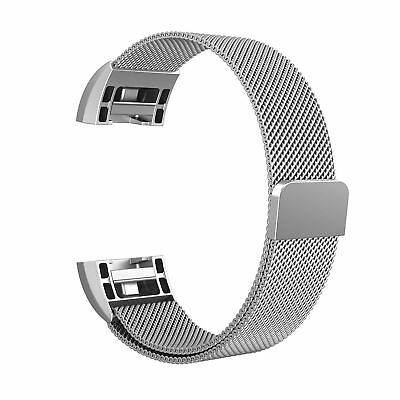 For Fitbit Charge 2 Watch Strap Wrist Band Milanese Stainless Steel Classic UK 12