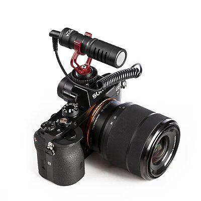 "BOYA Cardiod Shotgun Microphone MIC Video for Smartphone DSLR ""US Seller"" 6"
