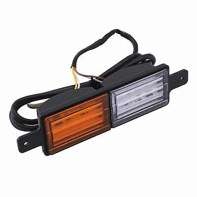 2X Sealed Bullbar Lights Set Front Indicator Park LED Bull Bar Light 5