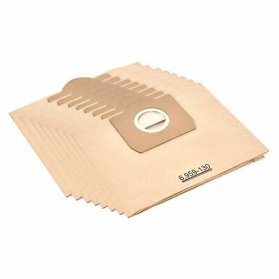 Staubsaugerbeutel für Karcher 6.959-130.0 6.904-322.0 Papiertüten Filter MV4 MV3 12
