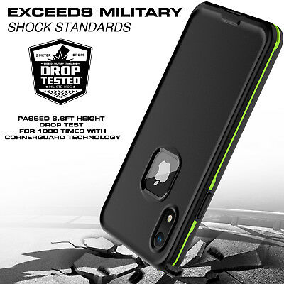 For Apple iPhone XR Xs Max Case Life Waterproof Dropproof Dirtproof Snowproof 5