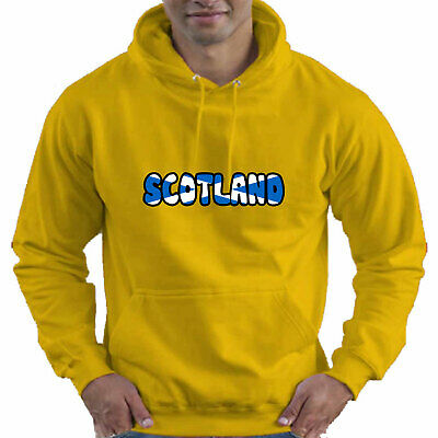 Scotland Scottish Flag Childrens Childs Kids Boys Girls Hoodie Hooded Top 2
