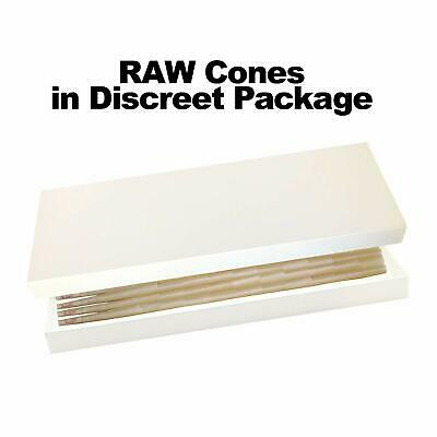 RAW 20 Classic King Size Cones, 109mm Pre Rolled Hemp Cones, W Gallery Box 3