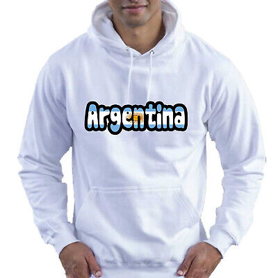 Argentina Flag Love Childrens Childs Kids Boys Girls Hoodie Hooded Top 11