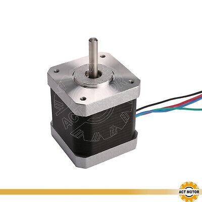 DE Free 3PCS Nema17 Schrittmotor 17HM5417 1.7A 48mm 0.9°  Φ5mm 60oz-in  Bipolar 6