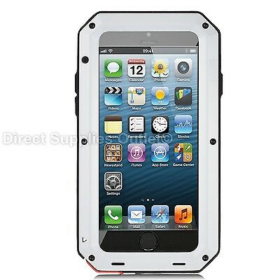 Waterproof Shockproof Metal Aluminum Gorilla Case For iPhone 6 7 8 X XR 5SE PLUS 11