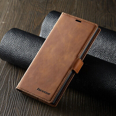 For Samsung Galaxy Note 10 Plus S10 Magnet Leather Wallet Case Card Pocket Cover 2