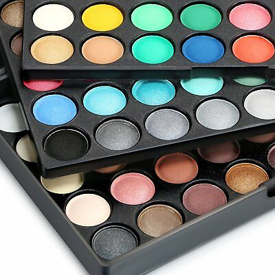 120 Colors Earth Cosmetic Powder Makeup Naked Matte Shimmer Eye Shadow Palette 4