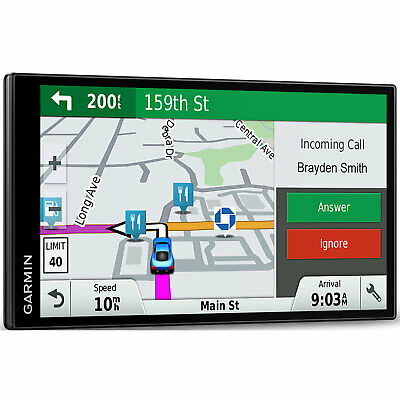 "Garmin DriveSmart 61 NA LMT-S GPS Navigation w/ Smart Features & 6.95"" Screen 7"
