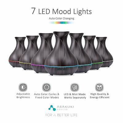 LED Ultrasonic Essential Oil Aroma Diffuser Aromatherapy Air Humidifier AU Stock 3