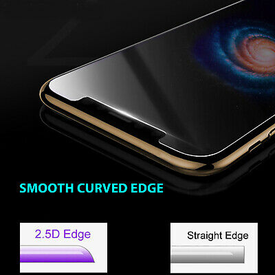 2X iPhone X XS Max XR 8 7 6 6S Plus 9H Tempered Glass Screen Protector For Apple 3
